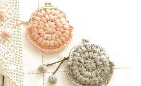 crochet purse pattern   Sewing!   Pinterest   Handarbeiten, Häkeln ...