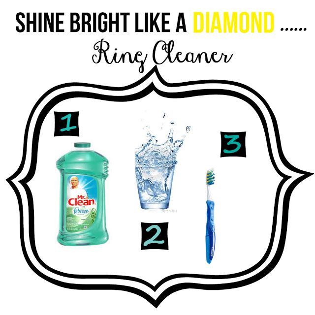 {Shine Bright Like A Diamond...Ring Cleaner} Clean Your