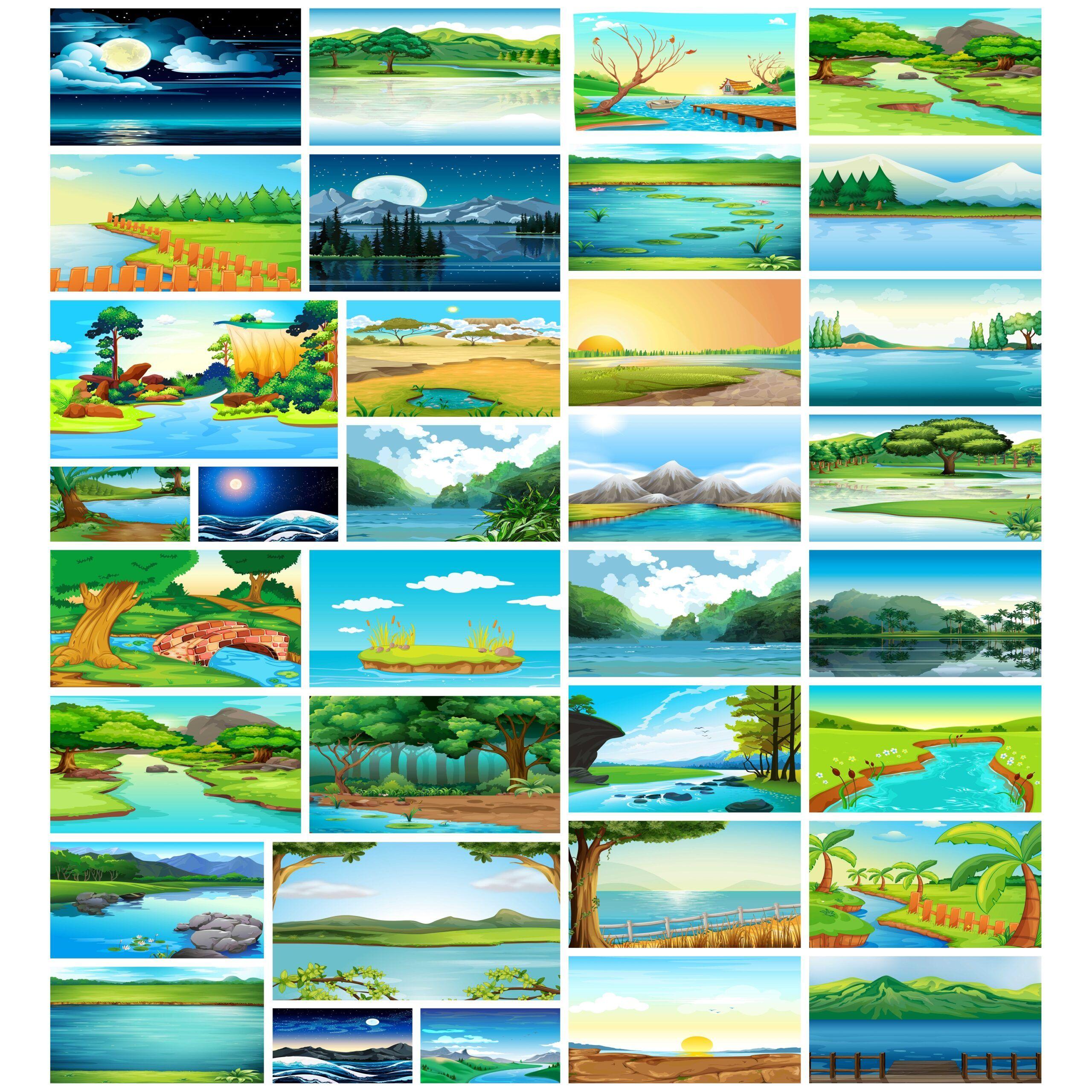 خلفيات ساحرة للبحيرات و الأنهار لعروض البوربوينت In 2021 Zelda Characters Character Fictional Characters