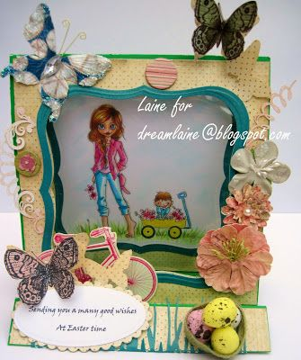 Dream Laine: Easter Eggstraviganza for Totally Papercrafts Challenge