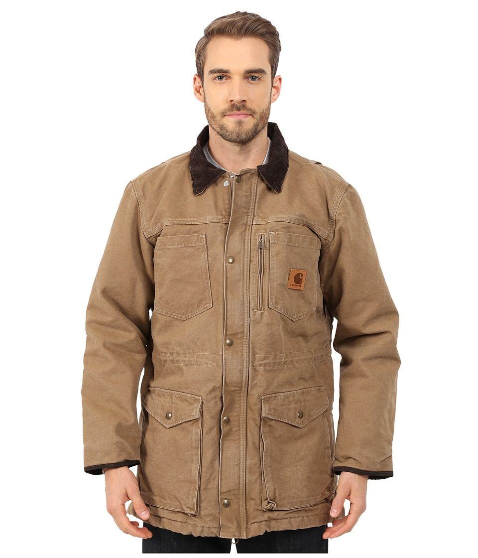 101683 Black or Frontier Brown Carhartt Sandstone Canyon Jacket//Coat Workwear