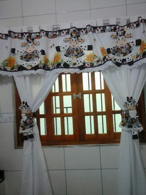 Curtains Ideas apple curtains for kitchen : 17 Best images about Cortinas on Pinterest | Roosters, Cafe ...