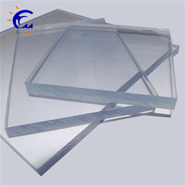 Clear Plexiglass Sheets Perspex Roofing Sheets Polycarbonate Soild Of Hangmei