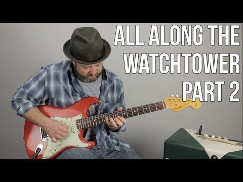 Jimi Hendrix All Along The Watchtower Pt 2 The First Solo