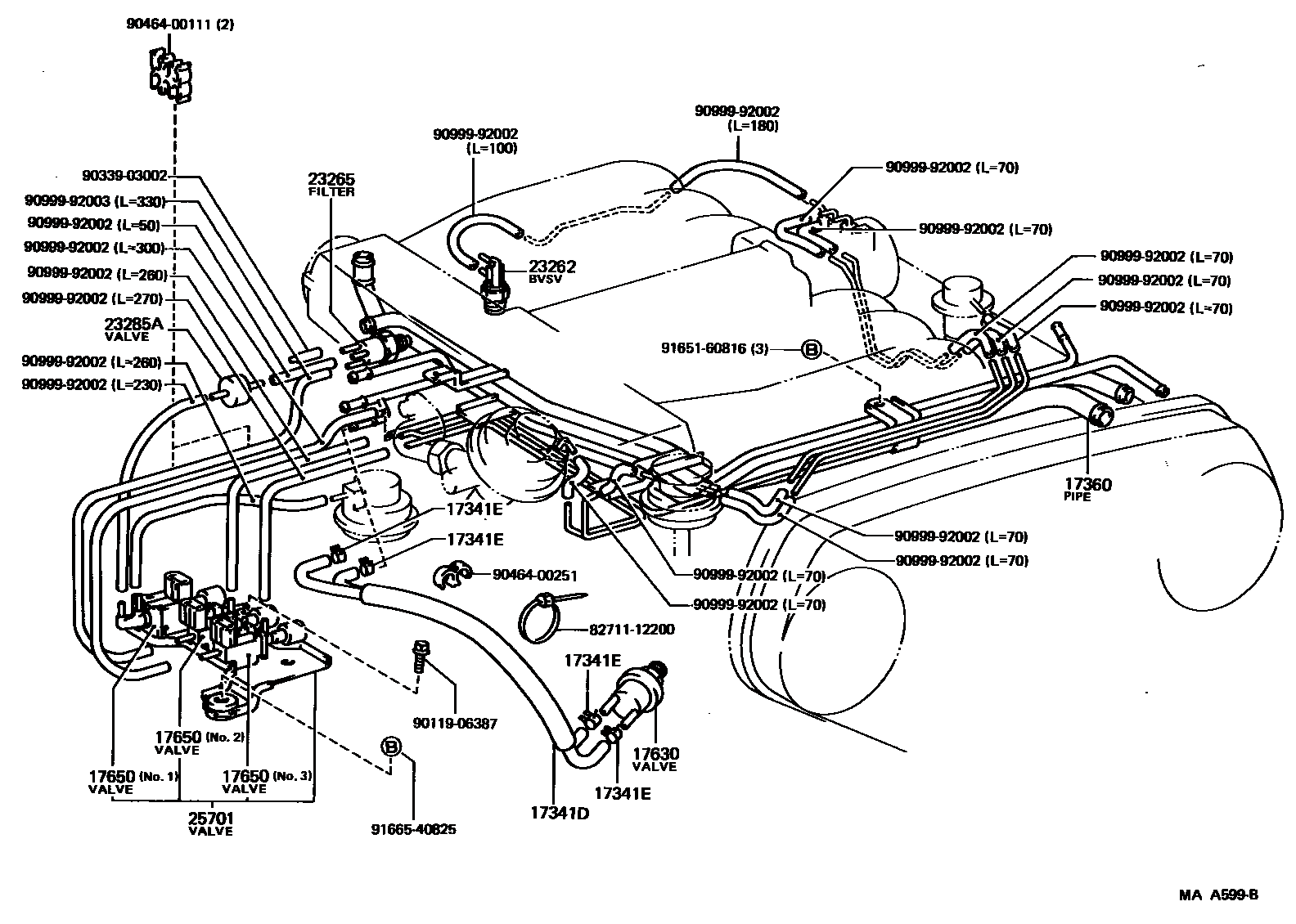 1993 Toyotum Pickup Engine Diagram