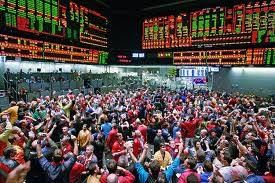 S P 500 Futures When There Was A Trading Pit Stock Market