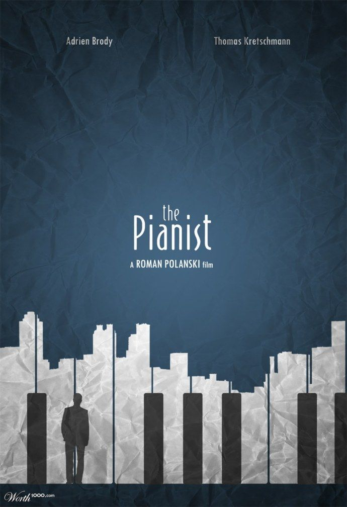 The pianist – Worth1000 Contests.