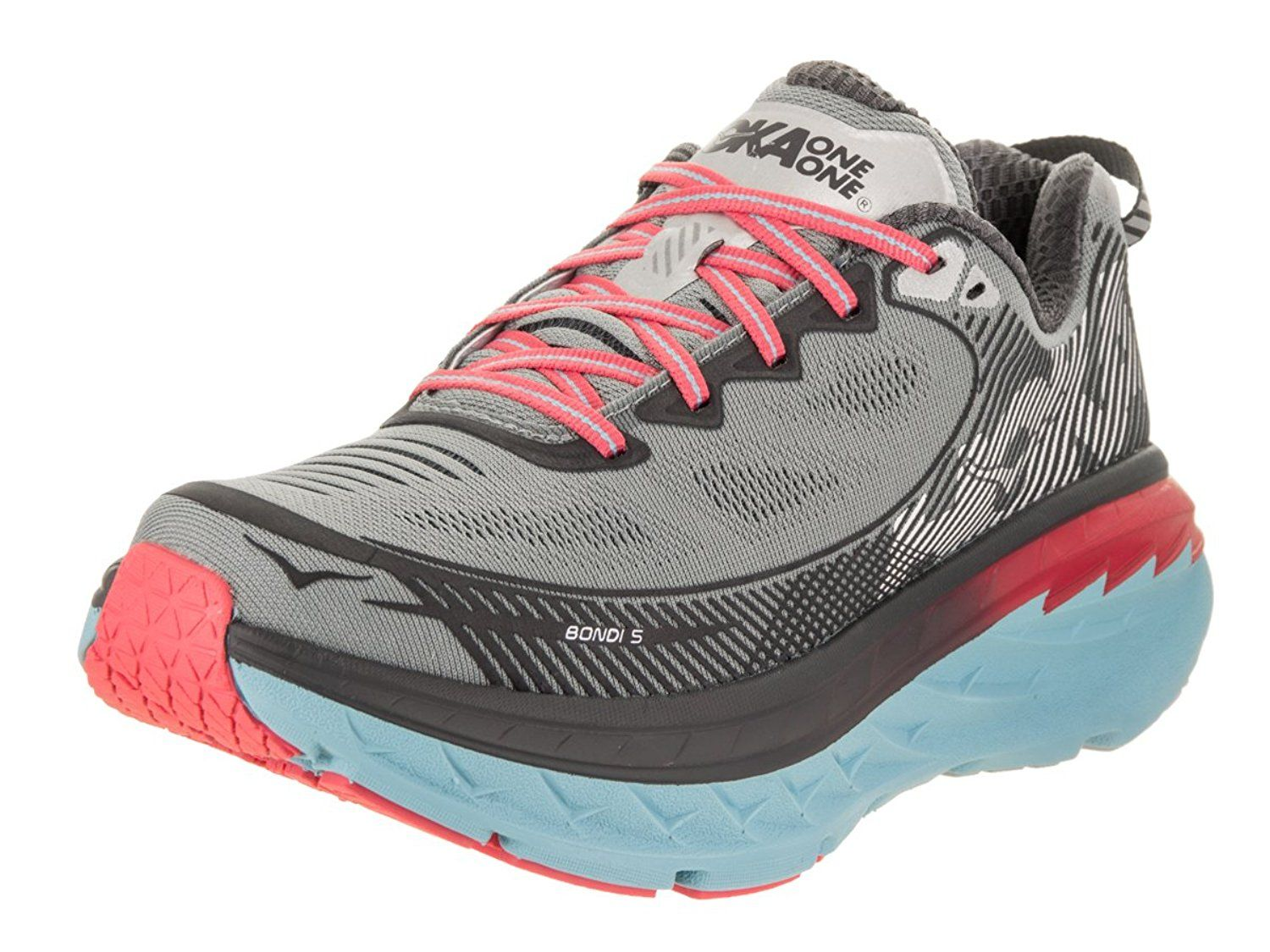 8a8c044bcddcc Amazon.com | Hoka One One Women's Bondi 5 Shoe (9) | Road Running ...