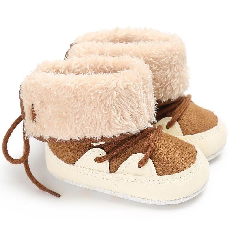 Boys Snow Boots Newborn Crib Shoes