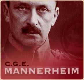 """Carl Gustav Emil Mannerheim (1867-1951) """"Kodin, uskonnon, ja isanmaan puolesta."""""""
