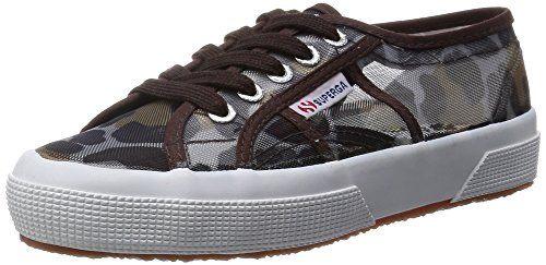 Superga  2750-Animalnetw,  Damen Sneakers , - Leopard Silver - Größe: 36 - http://on-line-kaufen.de/superga/36-eu-superga-damen-2750-animalnetw-sneaker