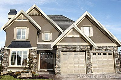 Stucco Exterior Colors new home house stuccomark hryciw, via dreamstime | for the