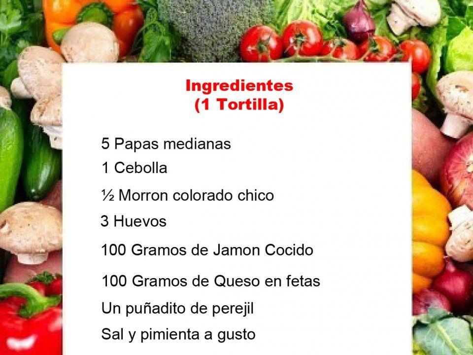 Tortilla de papas rellena de Jamon y Queso - Fotoreceta - Taringa!