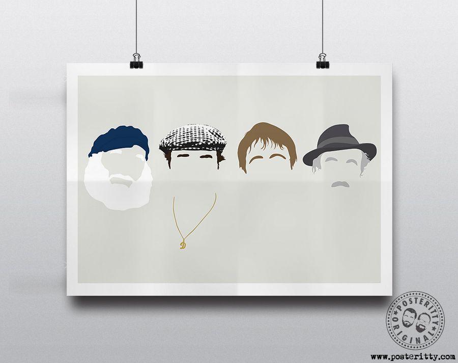 Designer Wall Art Gift British TV Comedy MIGHTY BOOSH Characters Poster Print