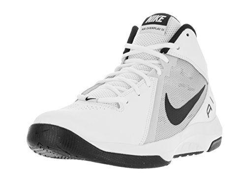 Scarpe da basket Nike Uomo The Air Overplay IX Bianco