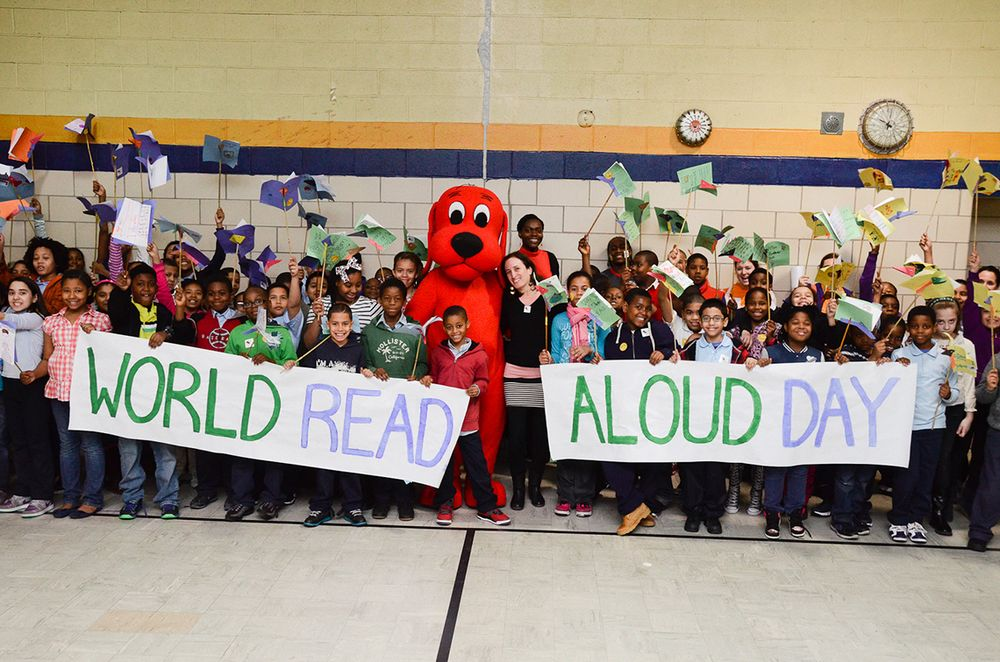 February 24, 2016 is World Read Aloud Day! An amazing program from LitWorld! Let's share in the importance of reading aloud and sharing stories!
