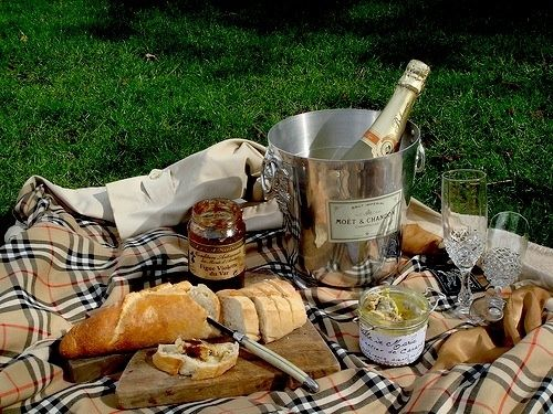 burberry and champagne picnic inspiration picnics pinterest campagne chic mon plaisir et. Black Bedroom Furniture Sets. Home Design Ideas
