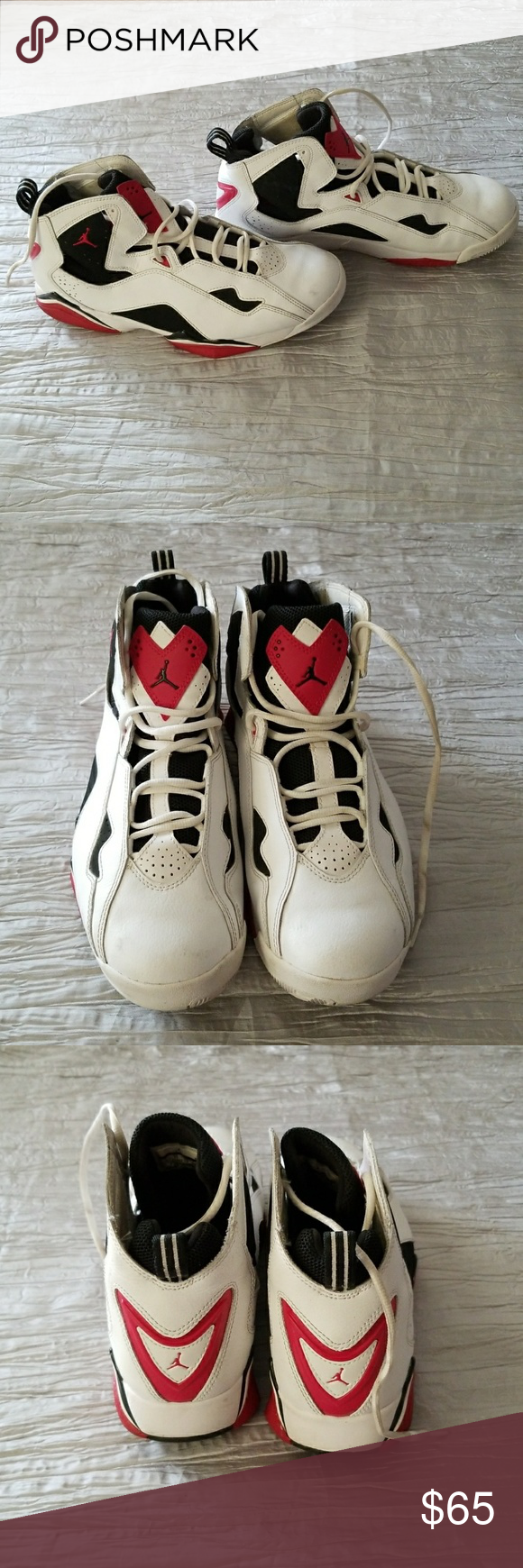 3b1f2746490f ... discount code for nike air jordan true flight mens basketball shoes  preowned still in good condition