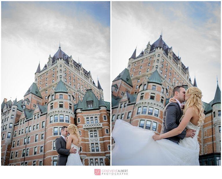 Mariage à La Citadelle De Québec Château Frontenac Wedding Photographe
