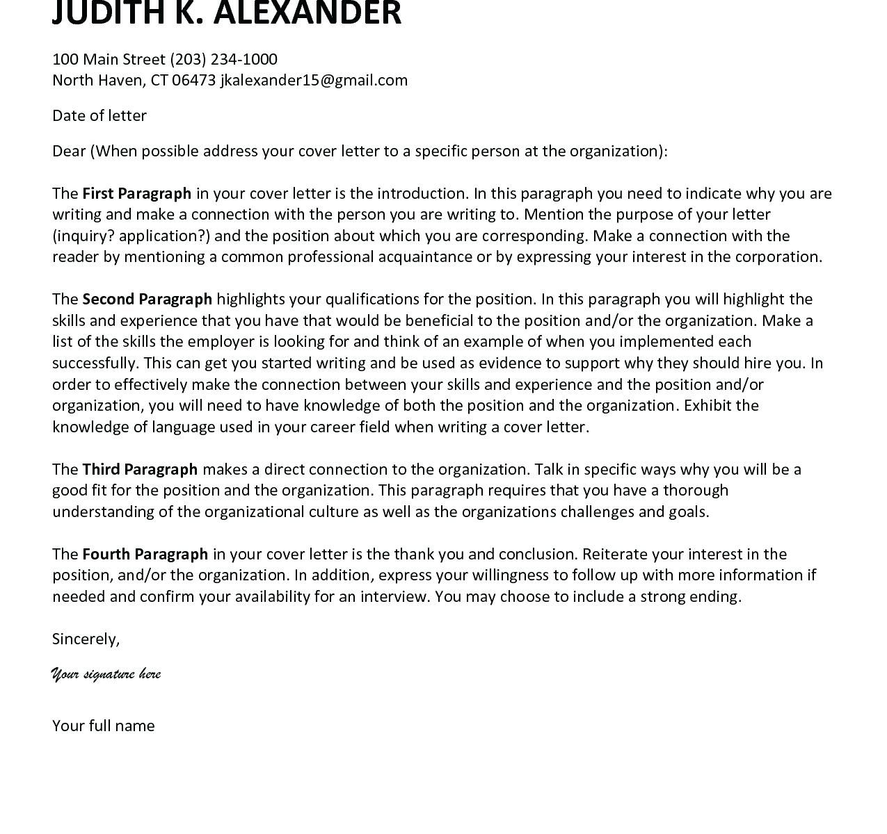 27 Cover Letter Intro Resume Cover Letter Example Lettering