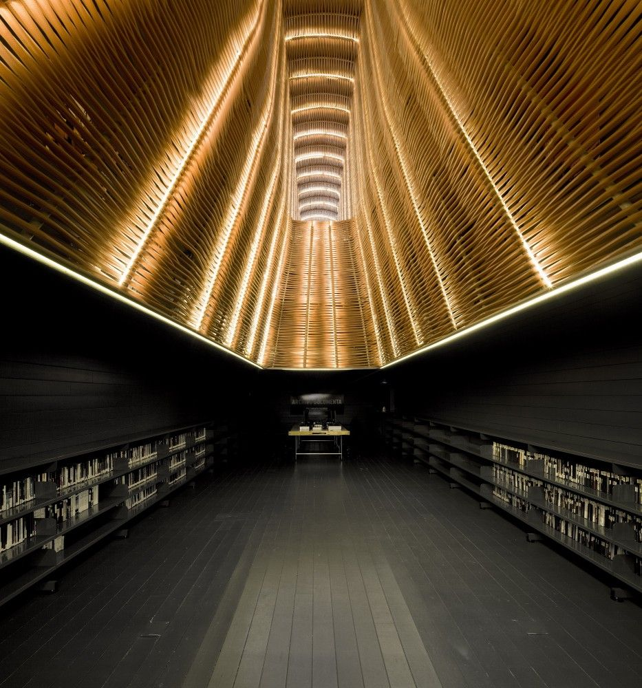 Modern Architecture: The Spiraling Library (8 Pics) | Modern Architecture  And Architecture