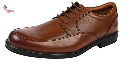 Clarks Banfield Walk, Chaussures de Ville Homme - Marron (Tan), 45 EU (10.5 UK)