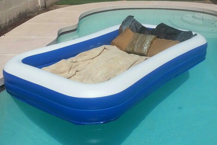 Perfect For Star Gazing Take A Kids Inflatable Pool Fill With Blankets And Pillows And Throw