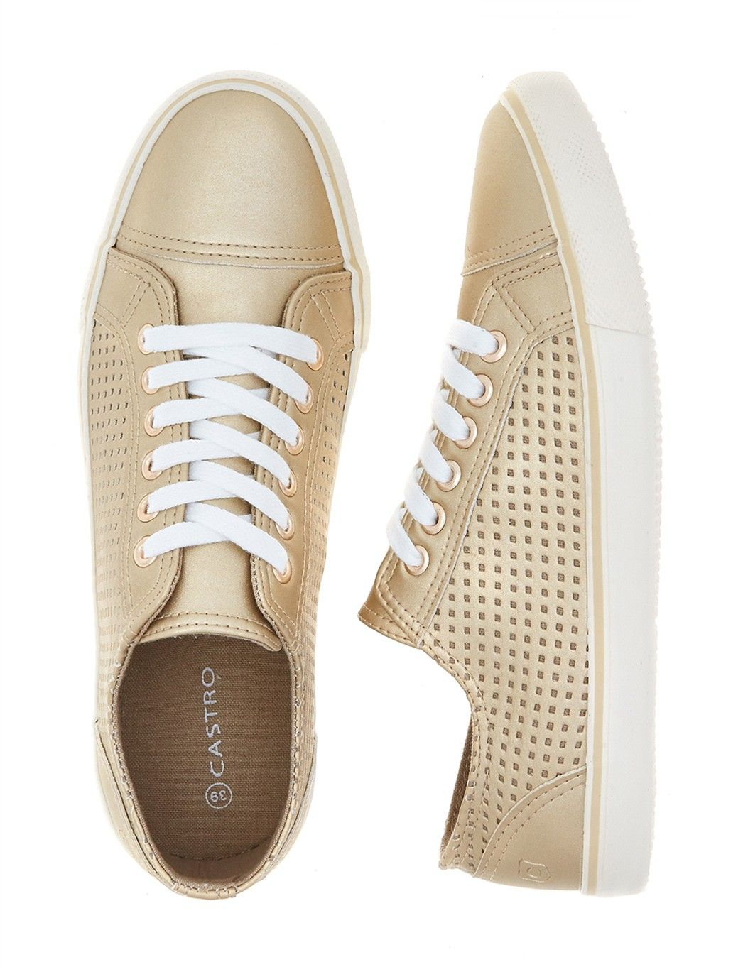 Golden Sneakers - Castro.com