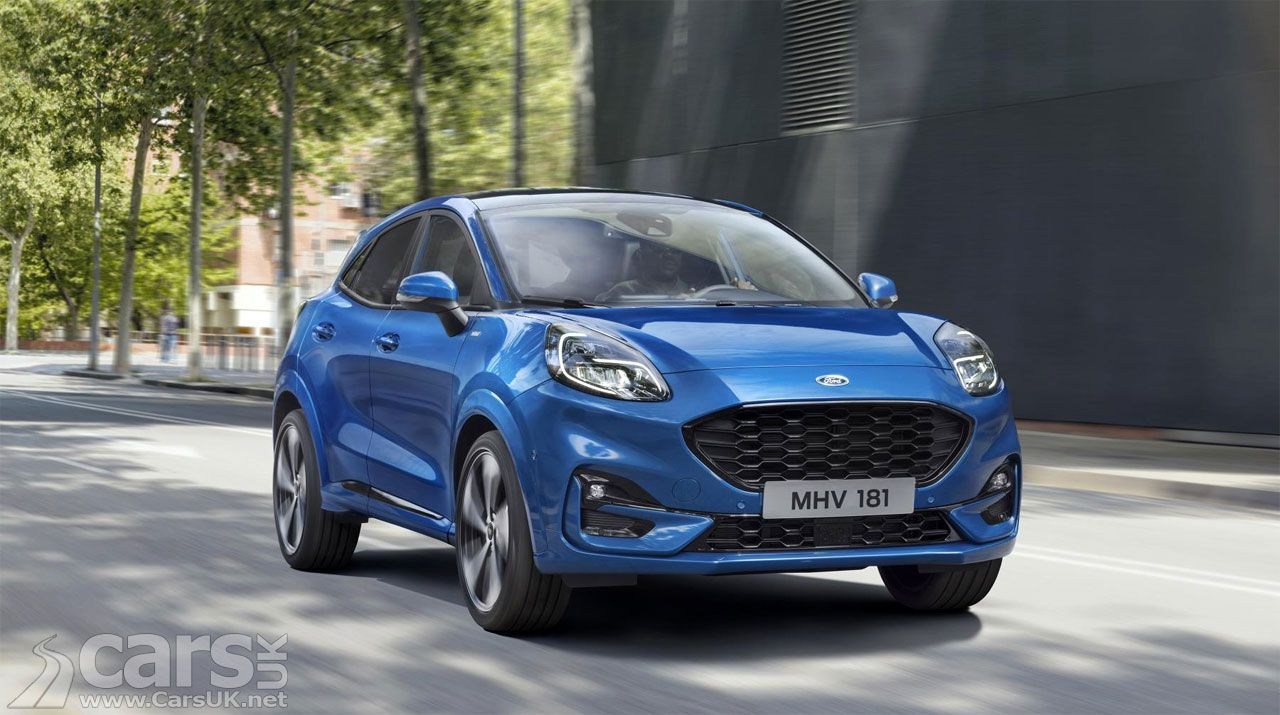 New Ford Puma Revealed As Ford Targets The Nissan Juke And More