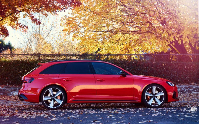 Wallpaper Audi Rs4 Avant Red Luxury Car 2018 Audi Rs4 Avant Audi Rs Audi