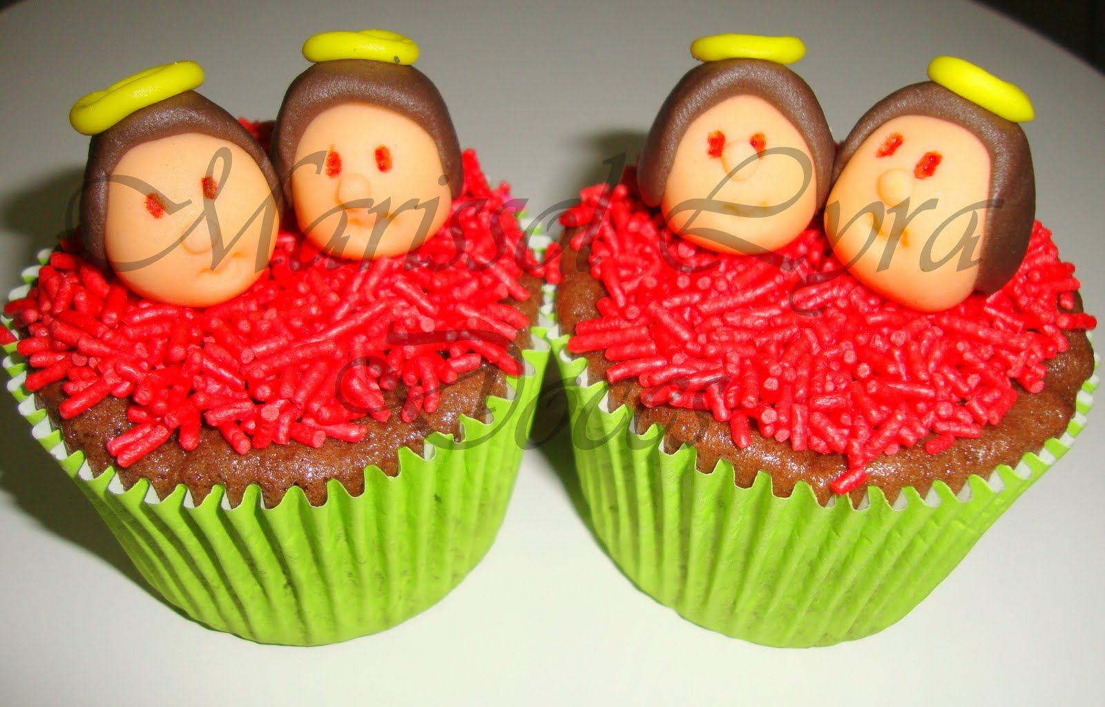 Saints Cosmas and Damian cupcake