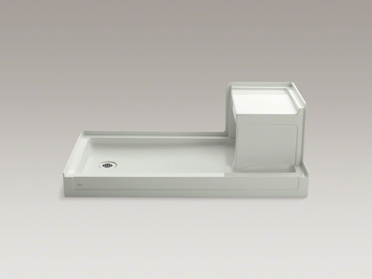 Replace Tub With Shower Base And Seat Caravan Rv Bathroom