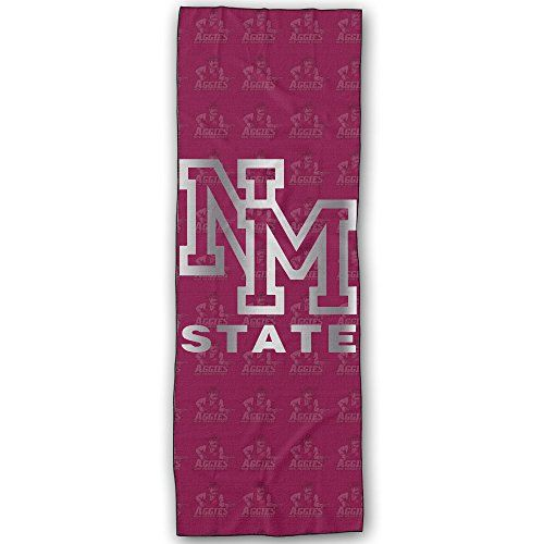 New Mexico State Aggies Platinum Logo Yoga Mat Towel -- To view further for this article, visit the image link.