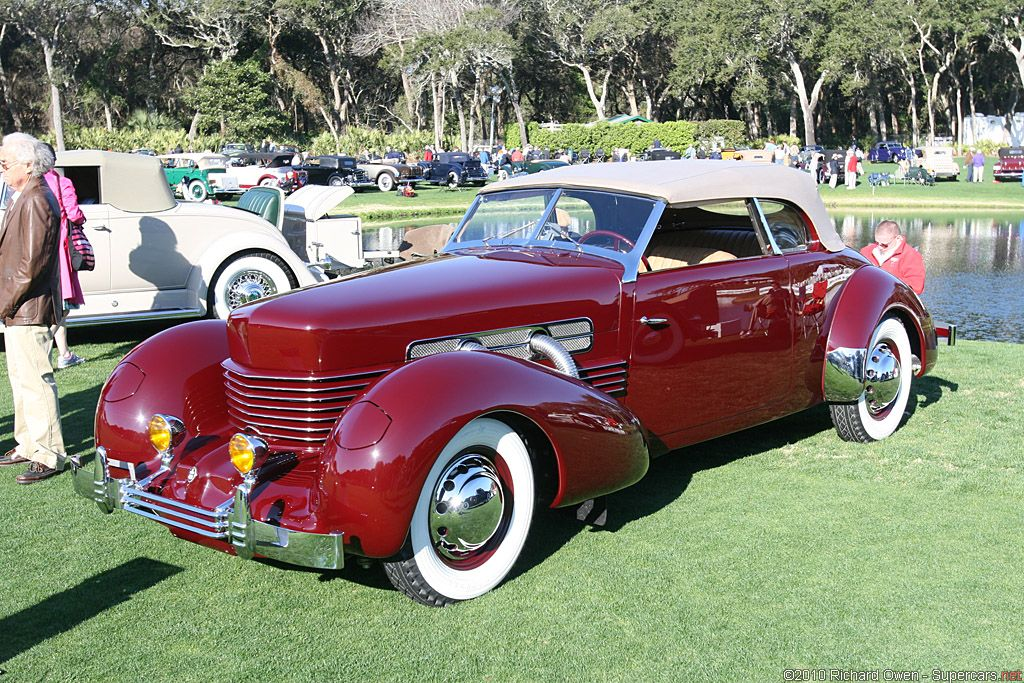 1937 cord 812 supercharged phaeton sportsman it was a for Cord motor car for sale