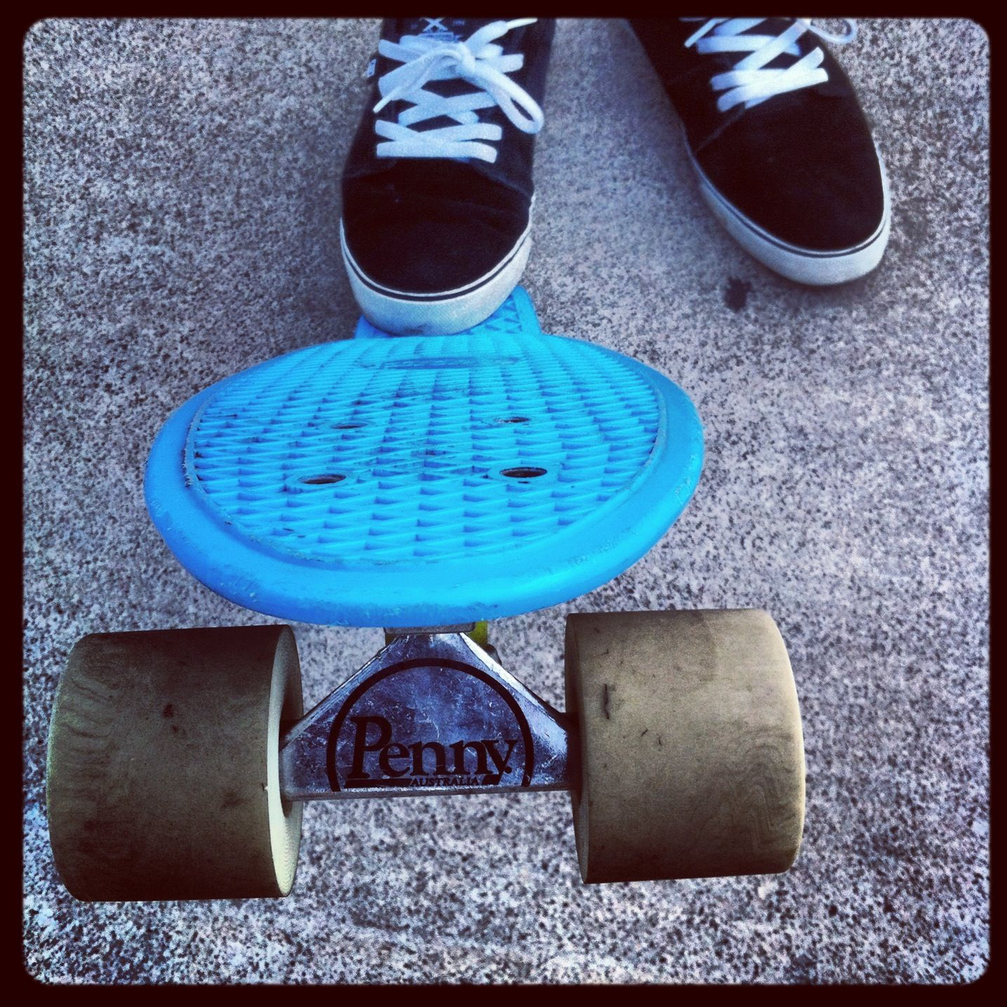 penny board. basically my board D Penny skateboard