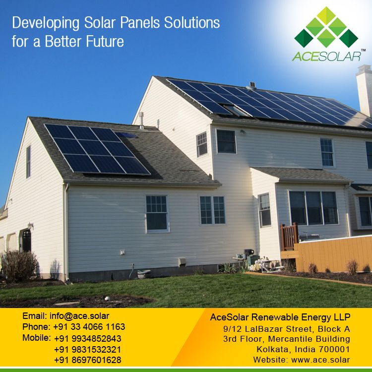 Pin by ACE SOLAR on Ace Solar Solar panels, Residential