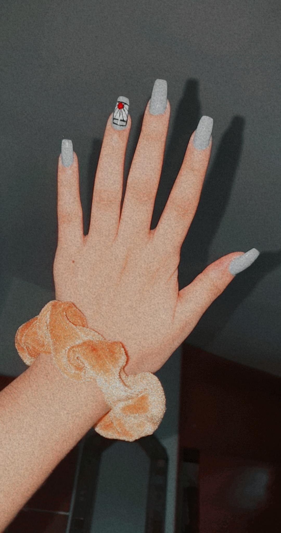 Kimetsu No Yaiba Nails Inspiration Anime Nails Short Acrylic Nails Designs Bling Acrylic Nails