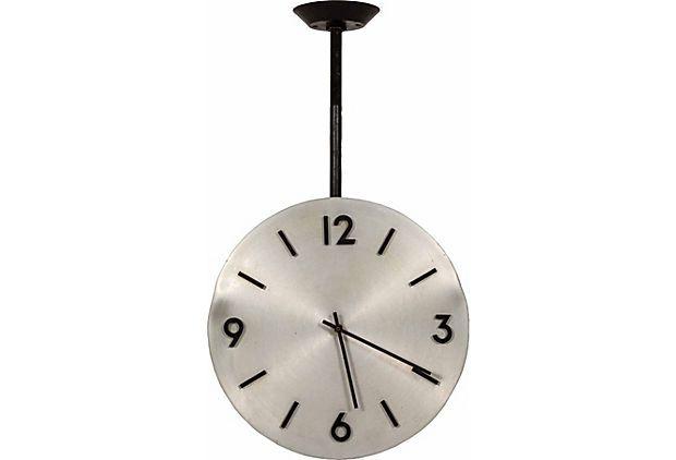 Palm Springs Midcentury Ceiling Clock