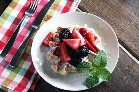 Belgian Liege Waffles (saw these on B. Flay's Throwdown, I MUST make pearlized sugar and all!)