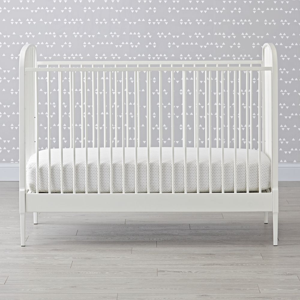 Charming Larkin White Crib