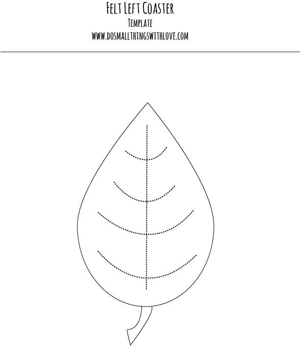 felt leaf template - Google Search | Felt :: Feltro :: Fieltro ...