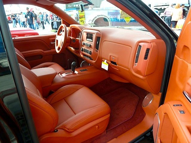 Best Truck Interiors At Sema 2013 Part 1 With Images Truck