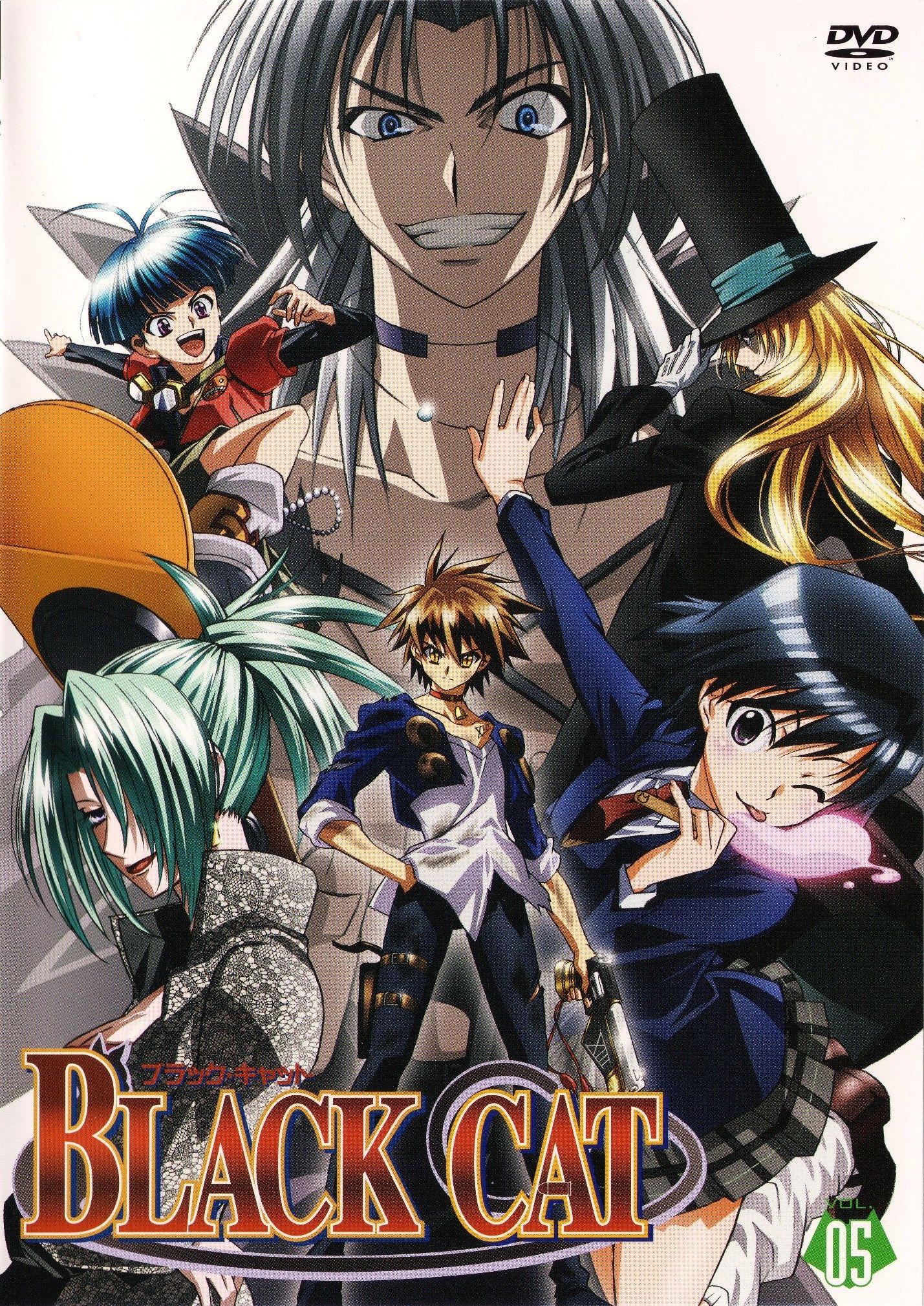 ブラックキャット // Black Cat Black cat anime, Anime, Black cat
