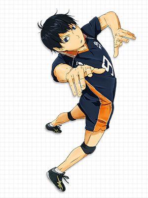 アニメ「ハイキュー!! 烏野高校 VS 白鳥沢学園高校」  CHARACTER キャラクター
