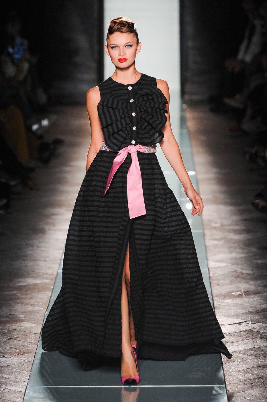 Roccobarocco at Milan Fashion Week Spring 2014 - StyleBistro