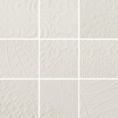 Everstone, Durastone 3D Relief 100x100 Mosaic Crema Luna Mixed Pattern | EVERSTONE Australia