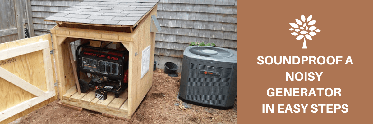 Soundproof A Noisy Generator In Easy Steps (With images