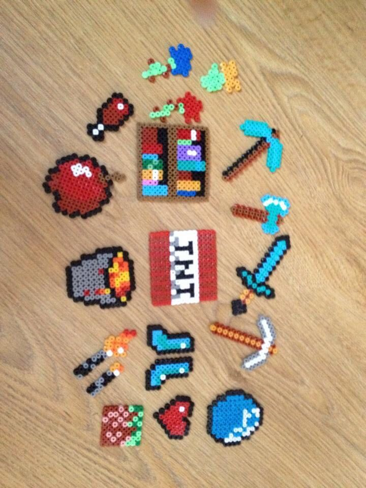 Pin By Cooper Morgan On Perler Beads Minecraft Beads