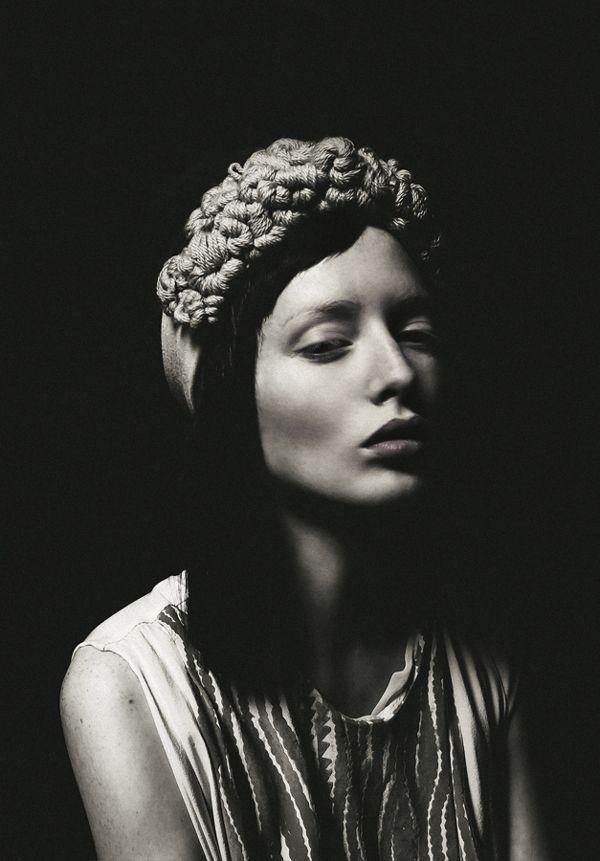 portraits women on Behance