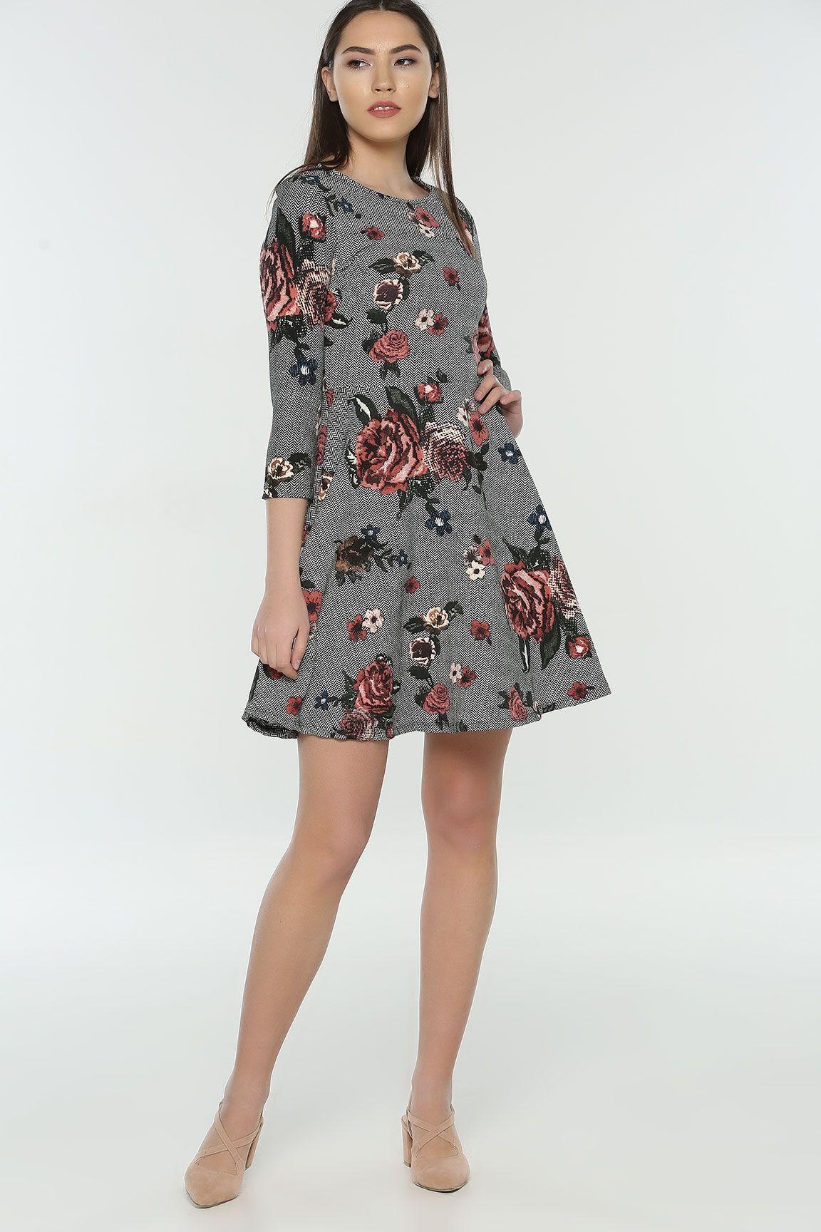 Siyahgul Empirme Elbise Elbise Elbise Modelleri Elbiseler